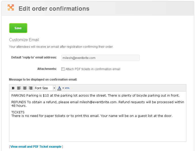 How to customize the order confirmation email &amp;amp; page