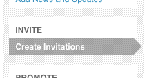 Send email invitations