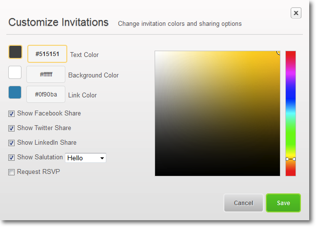Eventbrite Email Invitations was best invitations template