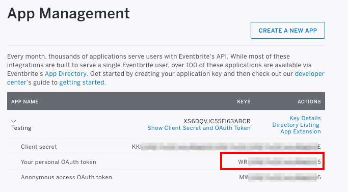 What to do if your OAuth token is invalid | Eventbrite Help Centre