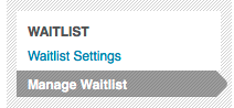 Waitlist Management